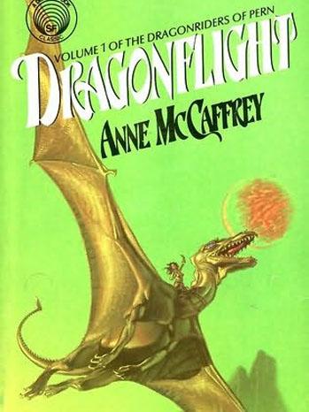 Anne McCaffery Dragons Pern Cover - P 2011