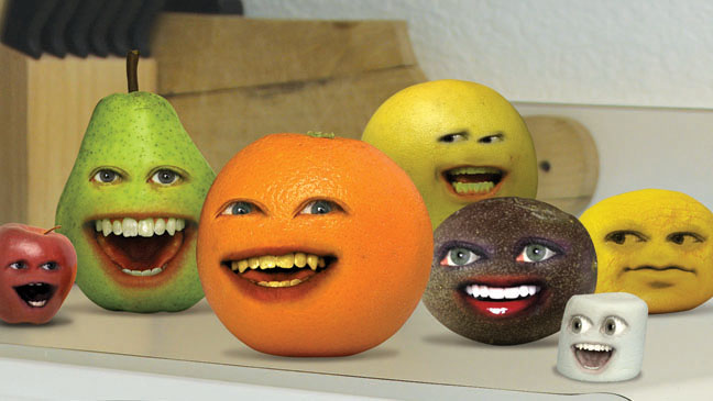 Annoying Orange Art Horizontal - H 2011