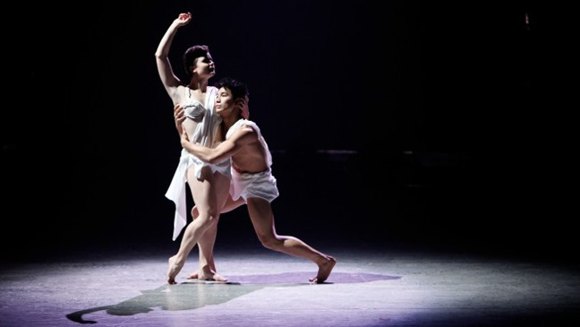 So You Think you Can Dance - TV Still: Melanie Moore and Marko Germar perform - H - 2011