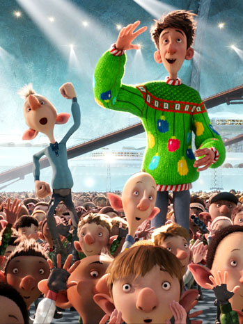 Arthur Christmas Film Review Hollywood Reporter