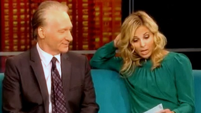 The View - TV Still: Bill Maher, Elisabeth Hasslebeck - SCREENGRAB - H - 2011