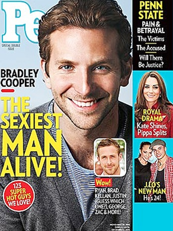 People Magazine Cover - Sexiest Man Alive - P - 2011