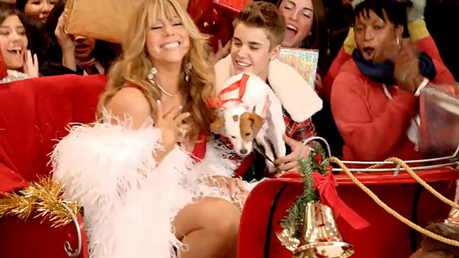 Mariah Carey and Justin Bieber Christmas Video
