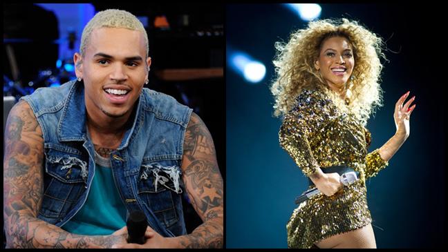Chris Brown Beyonce split L