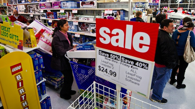 Black Friday Shoppers 2011