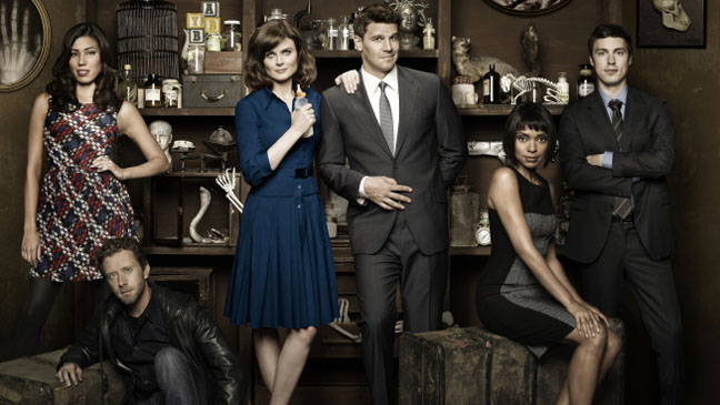 Bones Cast Portrait - H 2011