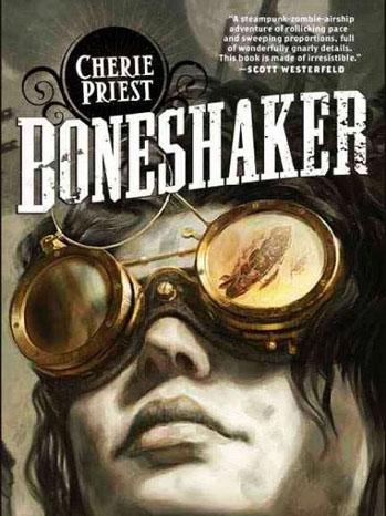 Boneshaker Book Cover - P 2011
