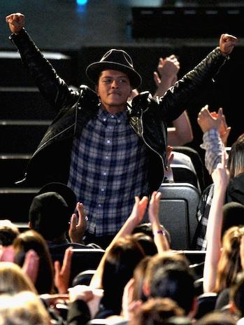 Bruno Mars Grammy Nominations Standing P 2011