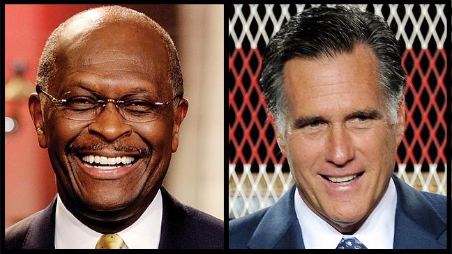40 REP Herman Cain Mitt Romney H