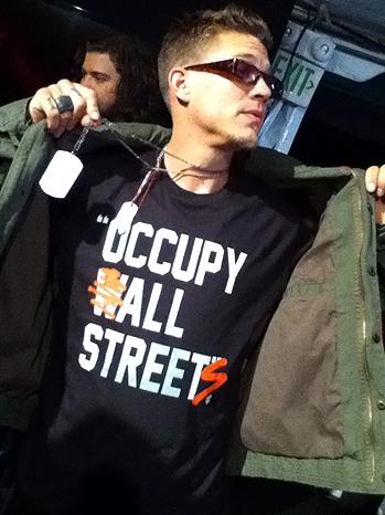 Chris Rene Occupy shirt P