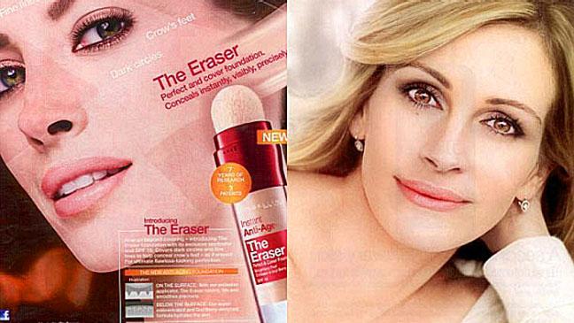 Christy Turlington Julie Roberts Print Ad Photoshop - H 2011