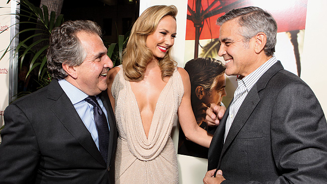 43 RED CARPET Descendants Jim Gianopulos Stacy Keibler George Clooney H