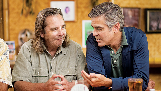 Beau Bridges & George Clooney