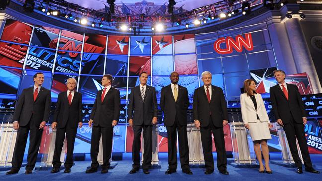 CNN GOP Presidential Debate - 11/22 - H 2011