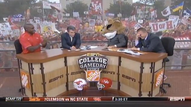 ESPN College GameDay Screen Capture - Lee Corso - H 2011