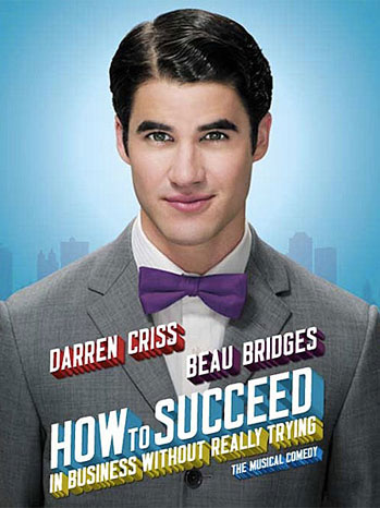 Darren Criss How to Succeed Poster 2011 - P