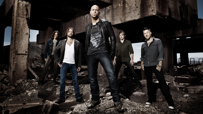 Daughtry publicity 2011