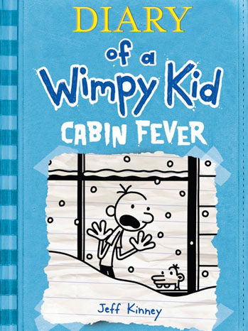 Dairy Wimpy Kid Cabin Fever Cover - P 2011