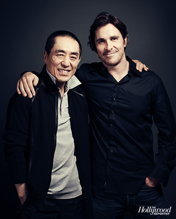 Zhang Yimou & Christian Bale