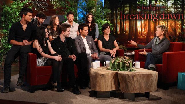Ellen Twilight Breaking Dawn Cast - H 2011