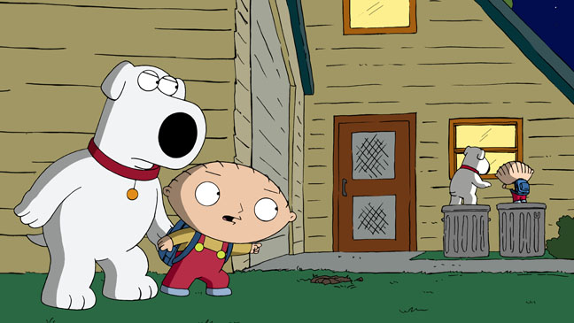Family Guy Back to the Pilot - H 2011
