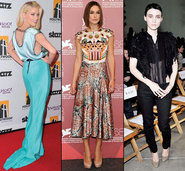 41 STY Fashion Stars Amber Heard Keira Knightley Rooney Mara P IPAD