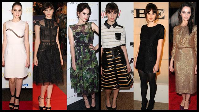 Felicity Jones Style Split - H 2011