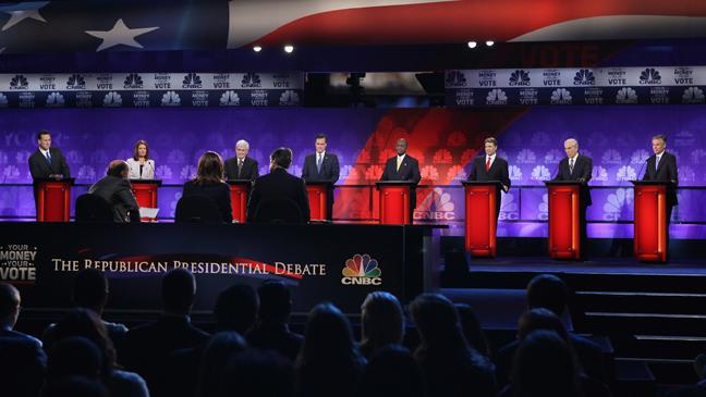 CNBC Republican Debate - 2011