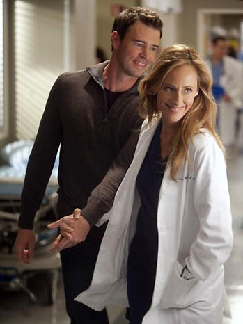 Grey's Anatomy Kim Raver Scott Foley - P 2011