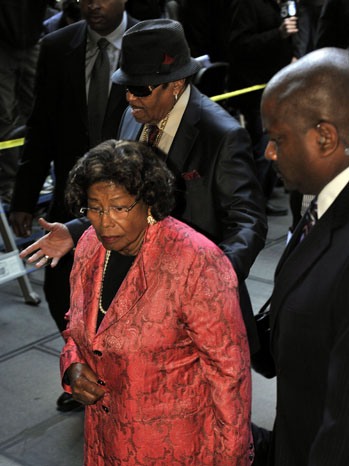Joe Katherine Jackson Conrad Murray Trial - P 2011