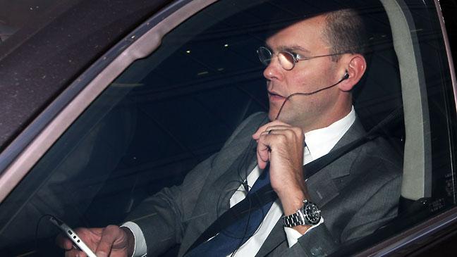 James Murdoch Car - H 2011