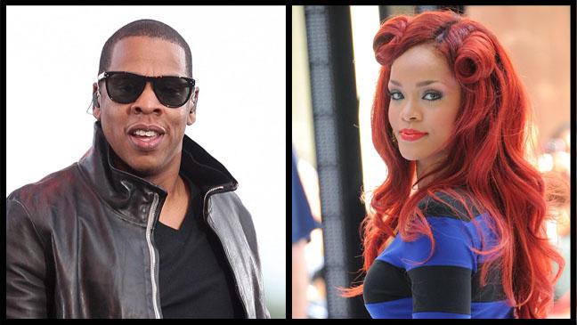 Jay-Z Rihanna Split - H 2011