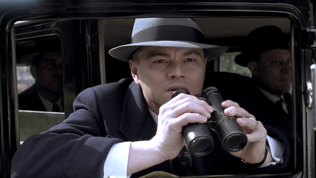 J. Edgar - Movie Still: Leonardo DiCaprio in car - H - 2011