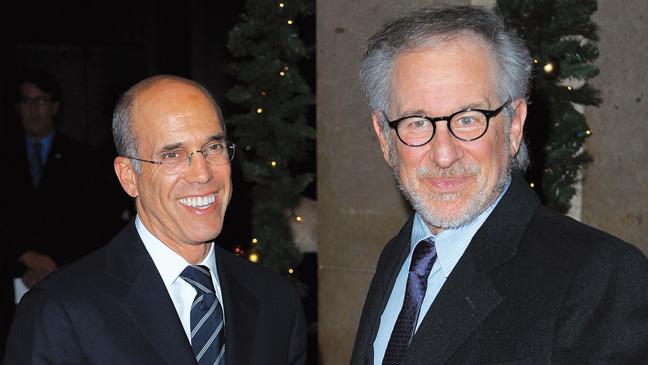 43 TOWN RAMBLING Jeffrey Katzenberg Steven Spielberg H