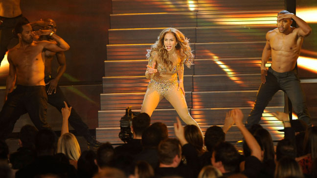 Jennifer Lopez Body Suit Performance - H 2011