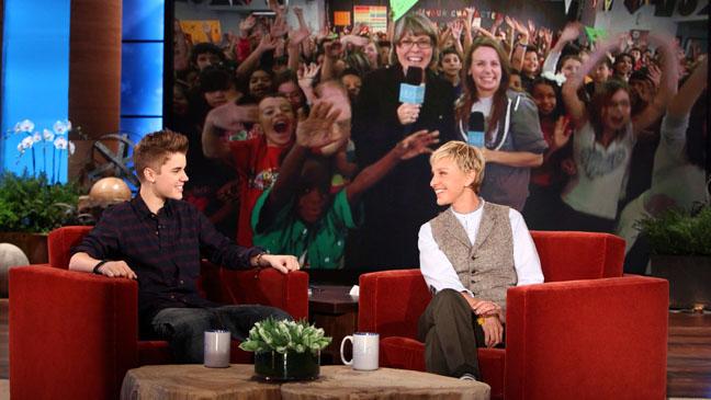 Justin Bieber Ellen DeGeneres Show - H 2011