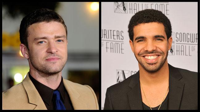 Justin Timberlake Drake Split - H 2011
