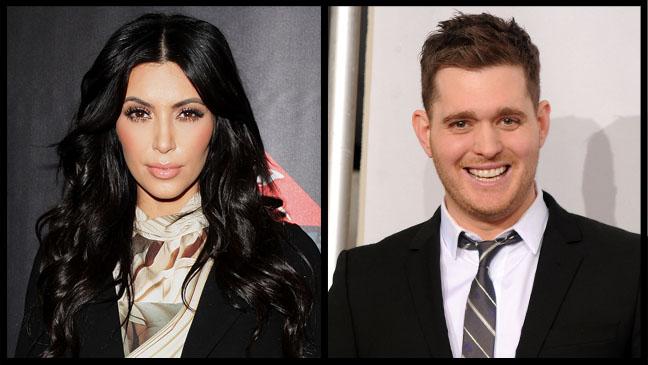 Kim Kardashian Michael Buble - H 2011