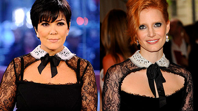 Kris Jenner Jessica Chastain Pucci - H 2011