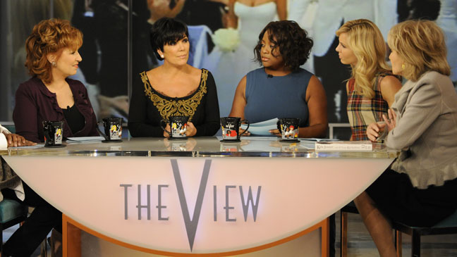 Kris Jenner The View - H 2011