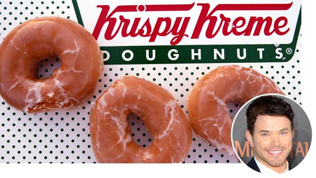Krispy Kreme Kellan Lutz Bubble Split - H 2011
