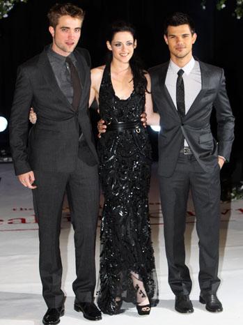 Robert Pattinson Kristen Stewart Taylor Lautner London Premiere - H 2011