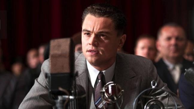 J. Edgar film still Leonardo DiCaprio