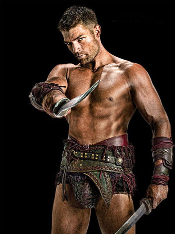 Liam McIntyre Spartacus Vengeance - P 2011