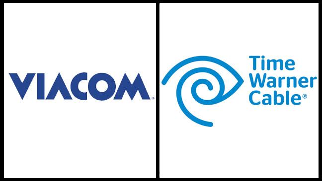 Viacom, Time Warner Cable Logo - SPLIT - H