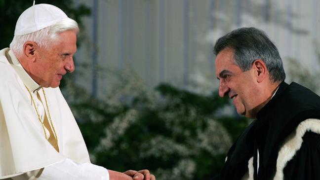 Pope Benedict Lorenzo Ornaghi - H 2011