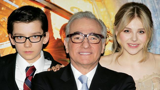 44 CARPET Hugo Asa Butterfield Martin Scorsese Chloe Mertz H