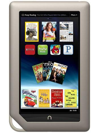 Barnes & Noble Nook - PR image - P -2011