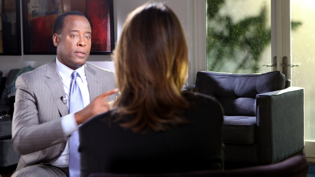 "Conrad Murray - TV Still: Today"" show co-host Savannah Guthrie interview - H - 2011"