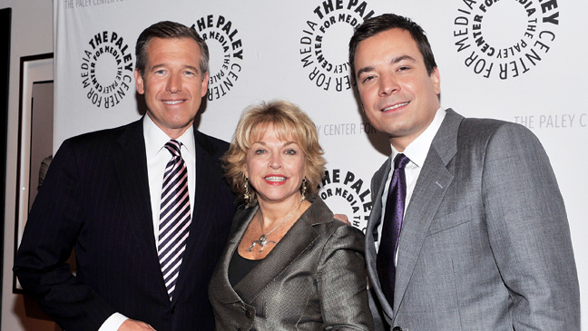 40 REP Paley Center Brian Williams Pat Mitchell Jimmy Fallon H